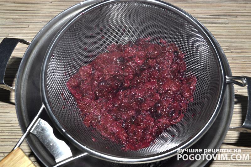 готовим ягодный мусс рецепт