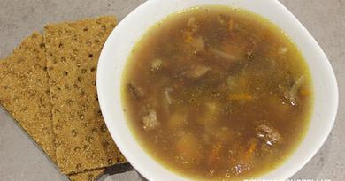 Фасолевый суп на говяжьем бульоне рецепт