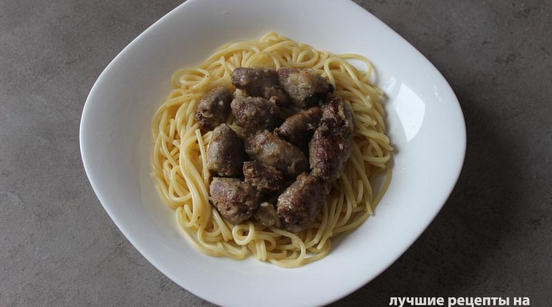 готовим жареные куриные сердечки рецепт