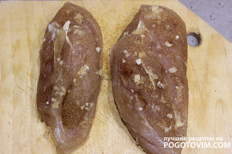 Домашнее вяленое куриное филе Рецепт