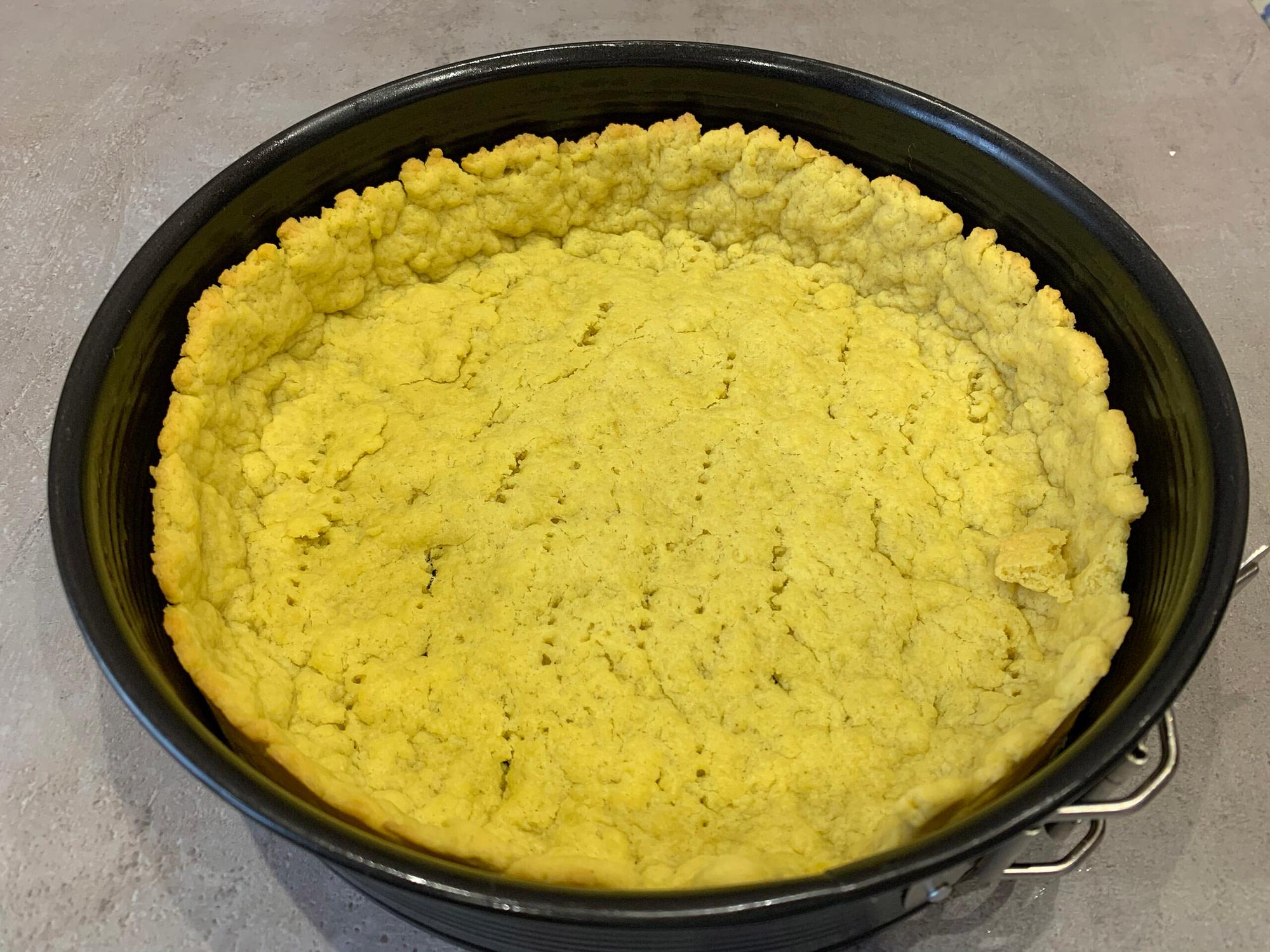 Чизкейк классический с творожным сыром и быстрым тестом рецепт