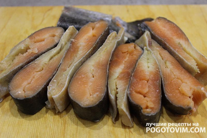Домашняя слабосоленая красная рыба форель рецепт