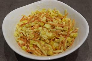 Салат с капустой и морковкой по-корейски рецепт