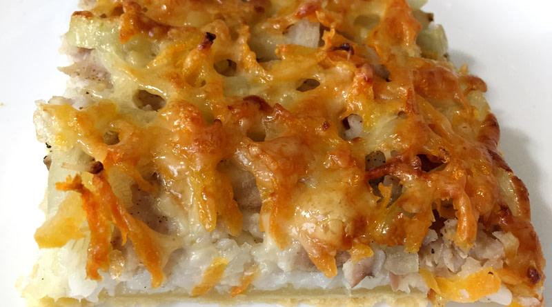 готовим пирог с рыбной начинкой из слоеного теста рецепт