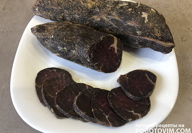 Вяленая говядина бастурма домашняя рецепт