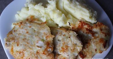 Куриные котлеты по-министерски с сыром рецепт
