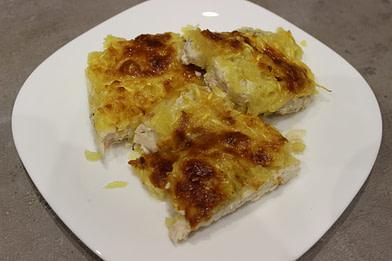 Куриные отбивные c кабачком и сыром в духовке рецепт