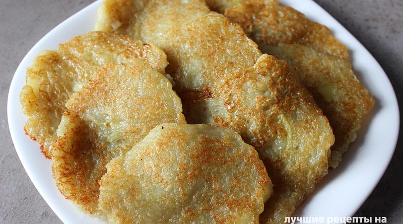 Белорусскиедраники картофельные рецепт