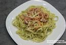 Спагетти с креветками и сливками рецепт