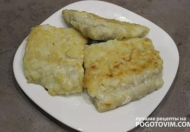 Жареное филе атлантической сайды в кляре рецепт