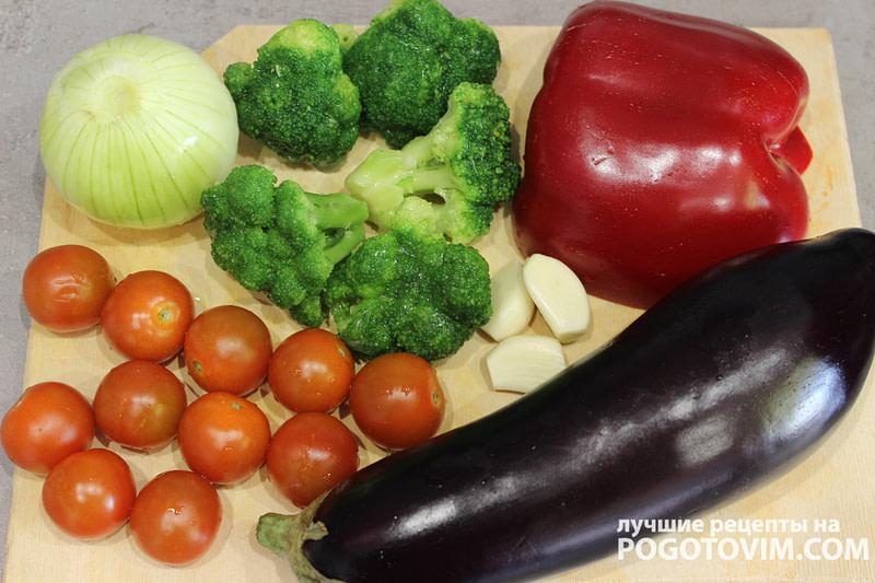 Тушеные овощи с баклажанами или рататуй