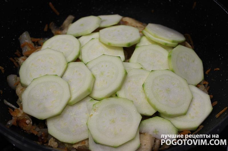 Жареное куриное филе с овощами рецепт